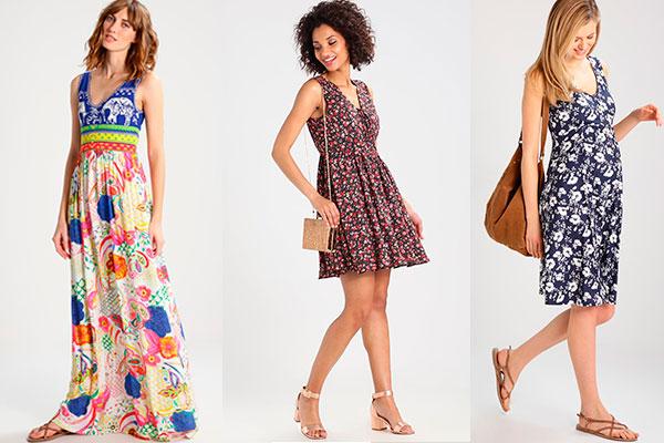 cómo combinar vestidos de verano