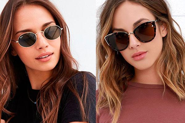 gafas de sol según tu cara ovalada