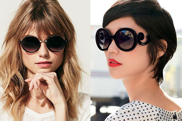 gafas de sol según tu cara redonda