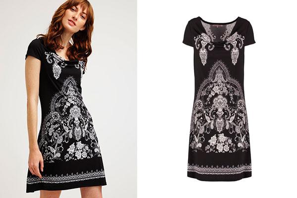 vestidos rebajas negro