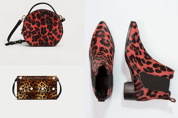 complementos con estampado de leopardo