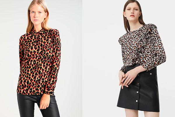 ropa estampado de leopardo