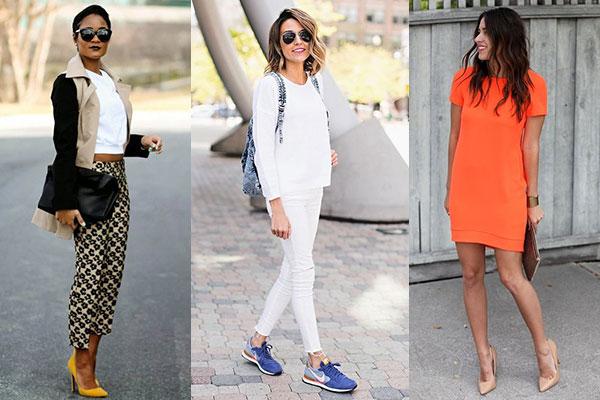 cómo combinar ropa y complementos-zapatillas