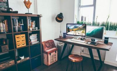 cómo decorar un espacio de trabajo en casa