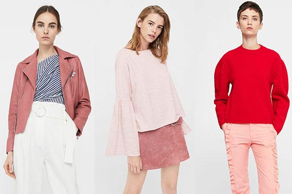 colores del otoño ropa