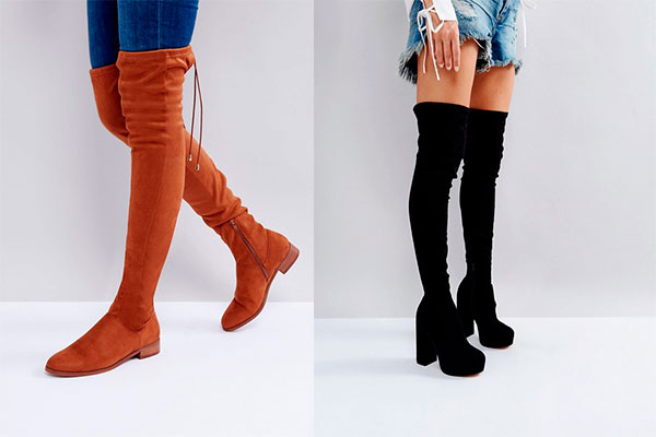 combinar botas altas