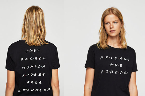 camisetas de series friends