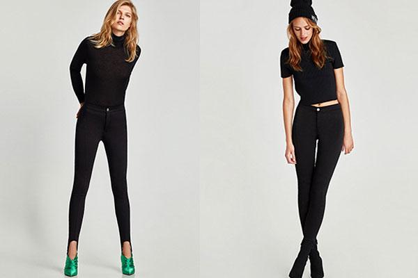 pantalones vaqueros negros otoño