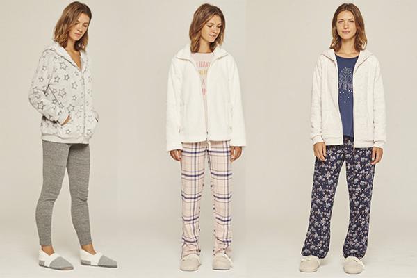 pijamas y ropa de estar por casa