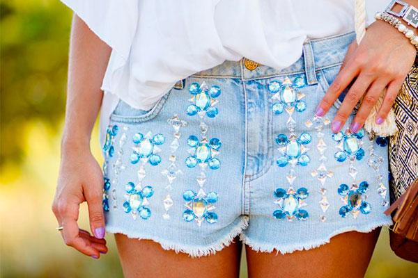 customizar ropa con pedrería