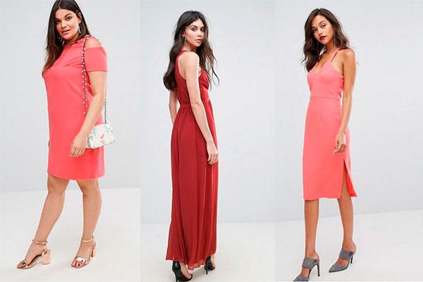 151b5062f2 Cómo combinar un vestido coral para ir a una boda