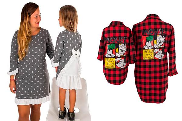 ropa igual para padres e hijos