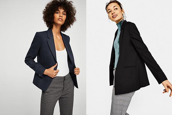 cómo combinar una blazer mujer