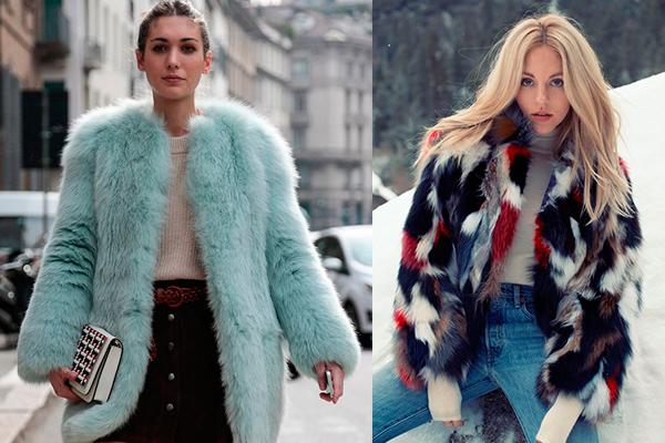 abrigo de peluche colores