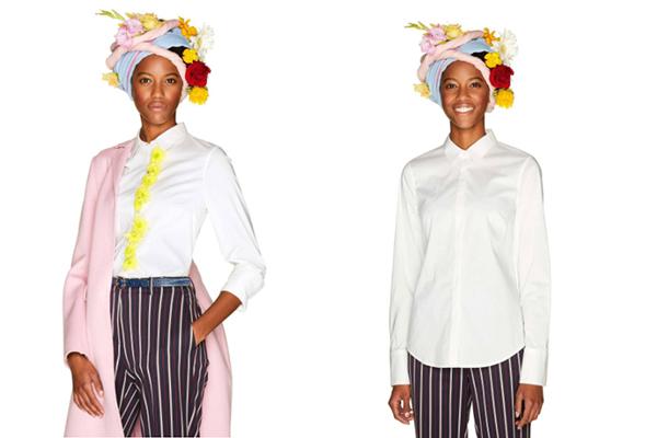 básicos de moda camisa blanca