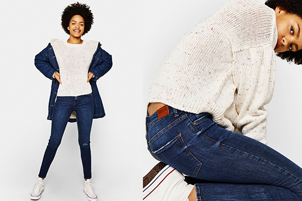 básicos de moda mujer jeans