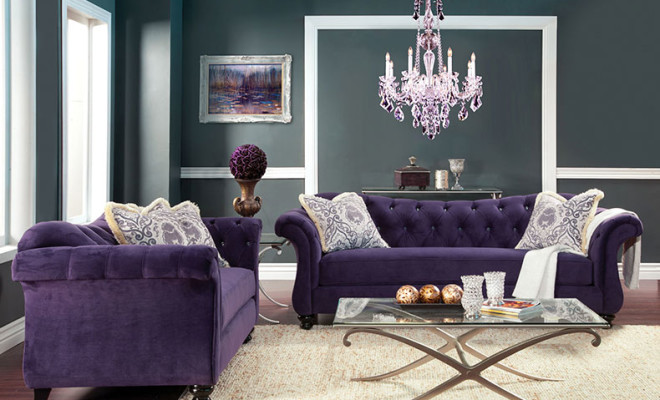 decorar con el color ultravioleta