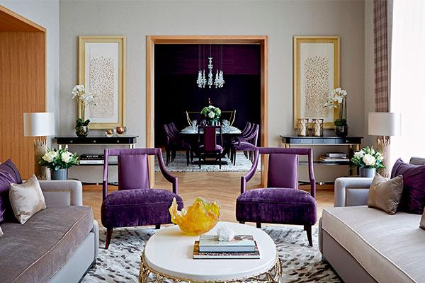 decorar con el color ultravioleta