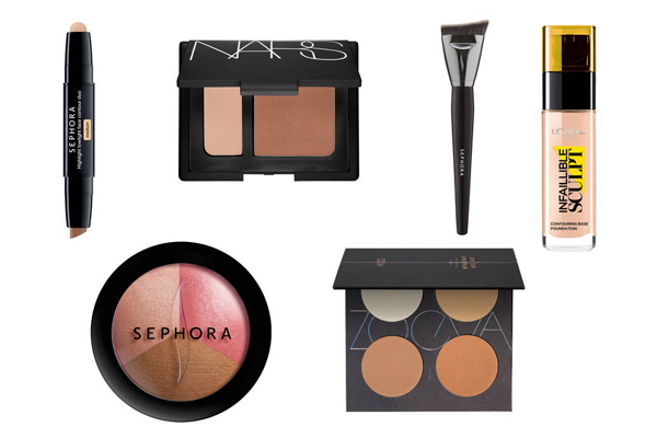 kit maquillaje contouring