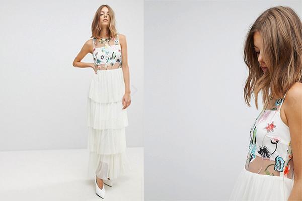 cómo se viste la hermana de la novia vestido blanco