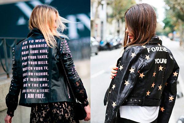 chaquetas con mensaje