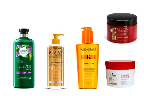 productos para el cuidado del-cabello