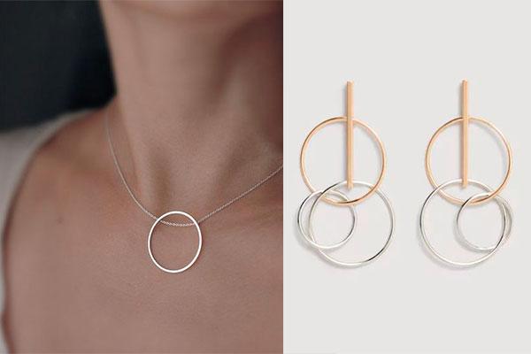 joyas de plata de moda