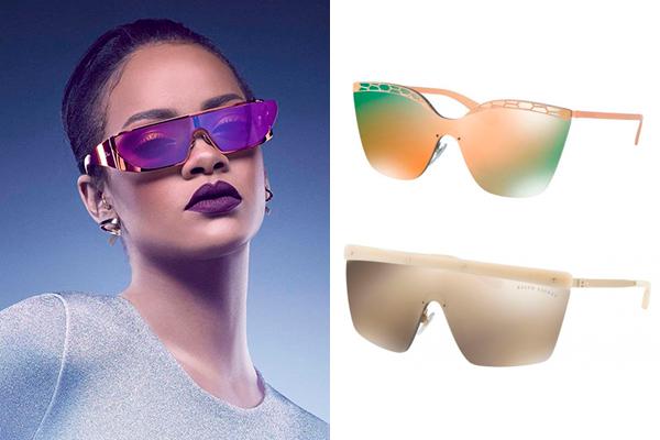 tendencias en gafas de sol verano futuristas