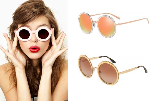 tendencias en gafas de sol verano redondas
