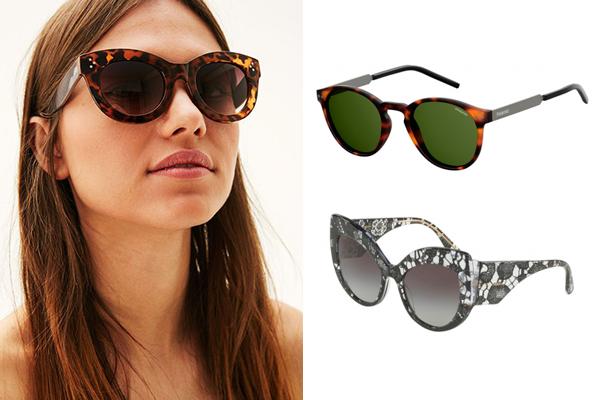 tendencias en gafas de sol verano vintage