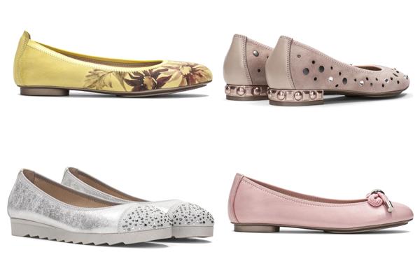 bailarinas y zapatos para look de invitada