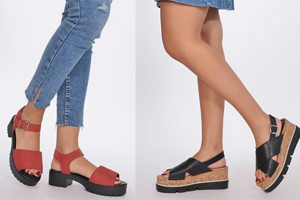 sandalias con plataforma verano