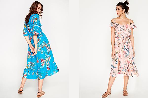 vestidos de verano estampados