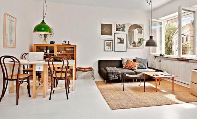 decorar un mini piso