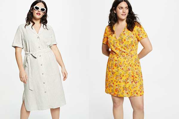 ropa de verano para tallas grandes vestidos