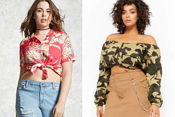ropa verano para tallas grandes forever 21