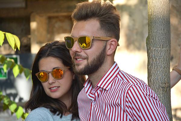 tendencias de verano 2018 gafas de madera
