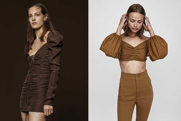 moda otoño de zara hombreras