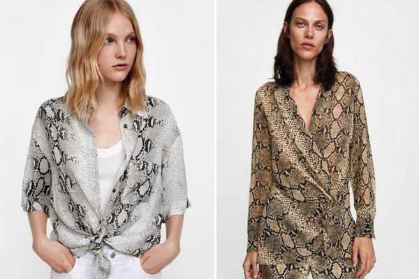 moda otoño zara animal print