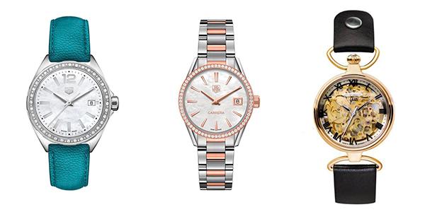 cómo combinar relojes bisuteria