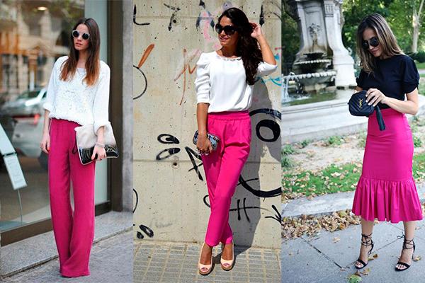 color rosa fucsia