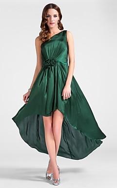 Zapatos para vestido de fiesta verde