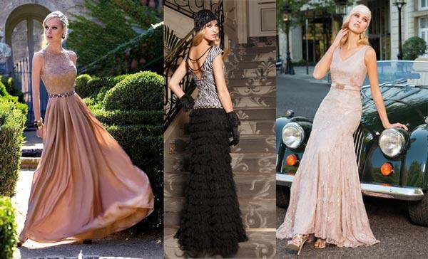 Diversión y halagos peinados vestido largo Fotos de ideas de color de pelo - Vestidos y peinados para invitadas a bodas