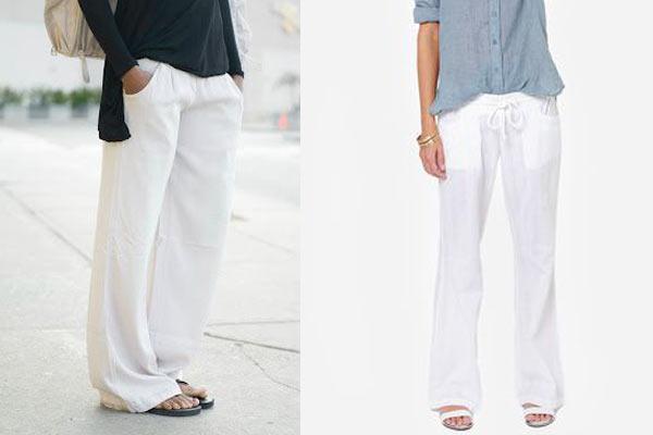 Como Combinar Un Pantalon Blanco