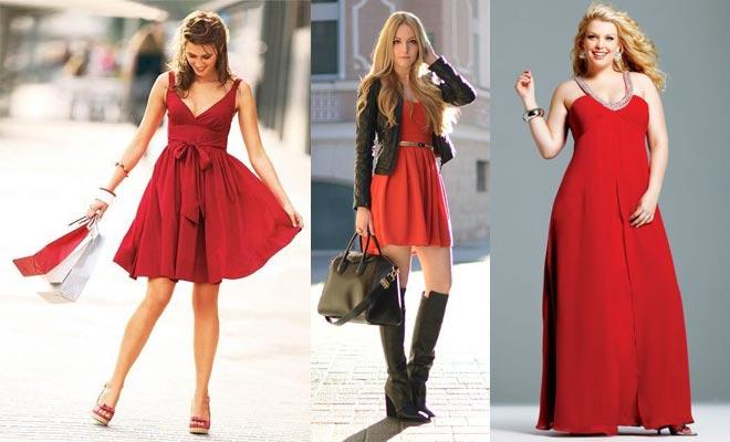 Chaqueta para vestido rojo