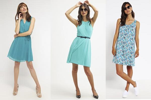 Color de zapatos para vestido azul verdoso